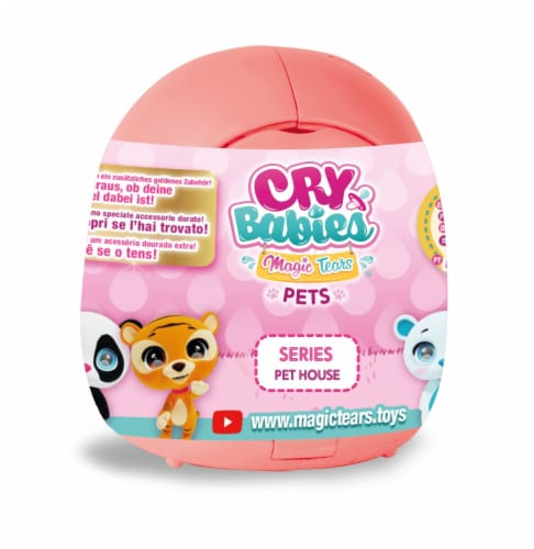 Magic Tears Cry Babies Pets Series Pet House - Assorted Perspective: front