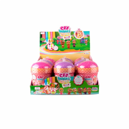 Cry Babies Magic Tears Tutti Frutti Figures Perspective: front