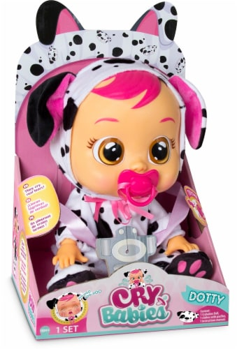 Cry Babies Dotty Doll Perspective: front