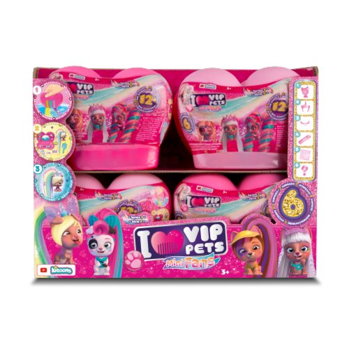 VIP Pets Mini Fans Doll Perspective: front