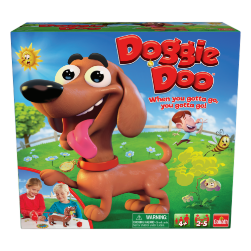 Goliath Doggie Doo Game Perspective: front