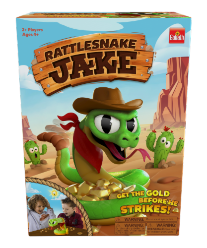 Goliath Rattlesnake Jake Board Game Perspective: front
