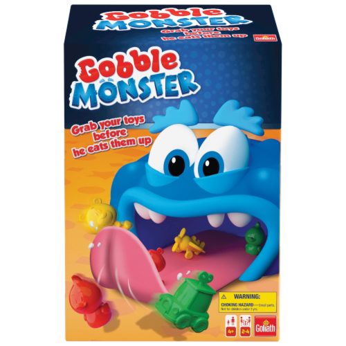 Goliath Gobble Monster Board Game Perspective: front