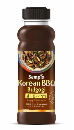 Sempio Korean BBQ Bulgogi Sauce Perspective: front
