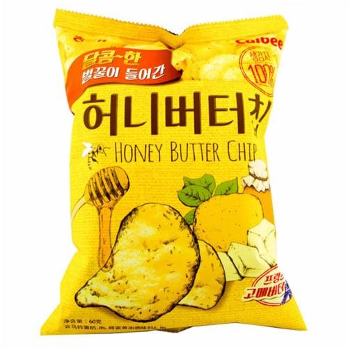 Haiti Honey Butter Potato Chips Perspective: front