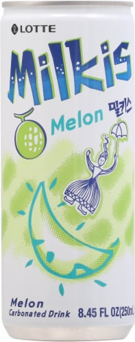 Lotte Milkis Melon Soda Perspective: front