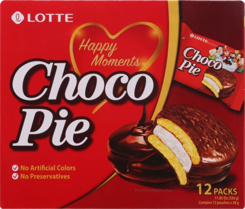 Lotte Choco Pies Perspective: front