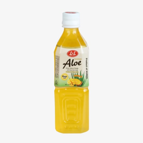 L&L Mango Aloe Vera Drink Perspective: front