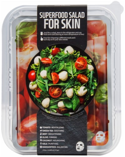 Farmskin Superfood Tomato Salad Face Mask Perspective: front