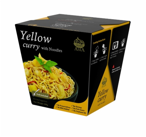 That's Asia Yellow Curry with Noodles Perspective: front