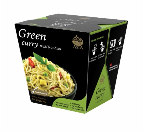 That's Asia Green Curry with Noodles Perspective: front