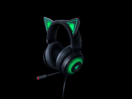 Razer Kraken Kitty Black Chroma USB Gaming Headset Perspective: front