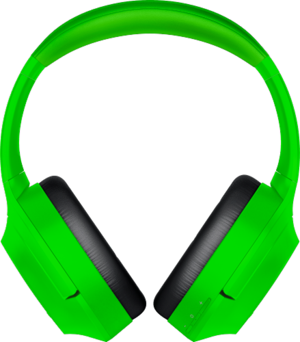 Razer Opus X Green Headphones Perspective: front