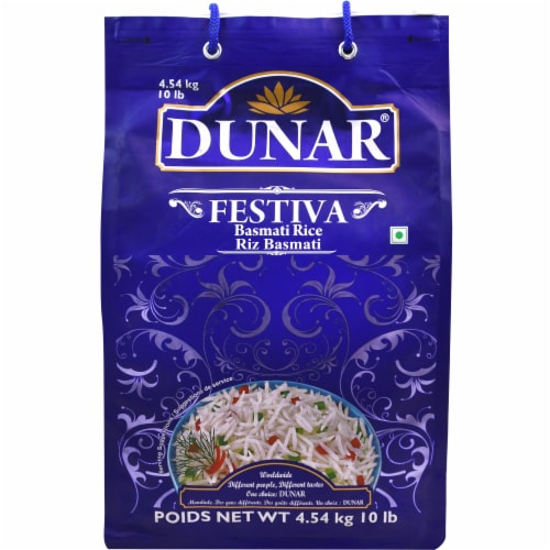 Dunar Festiva Basmati Rice Perspective: front