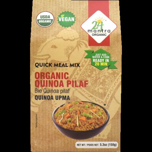 24 Mantra  Organic Quinoa Pilaf Quinoa Upma Perspective: front
