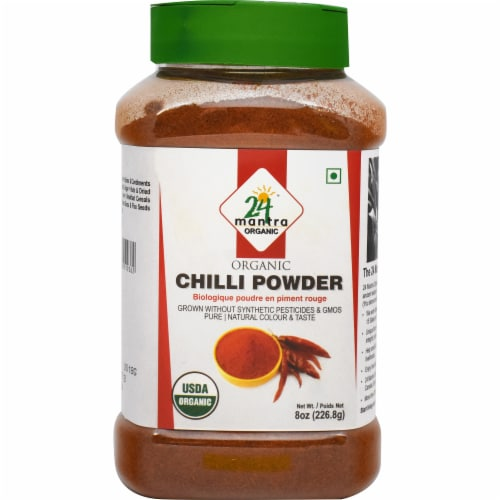24 Mantra Organic Chili Powder Perspective: front