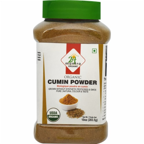 24 Mantra Organic Cumin Powder Perspective: front