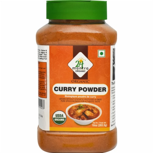 24 Mantra Organic Curry Powder Perspective: front