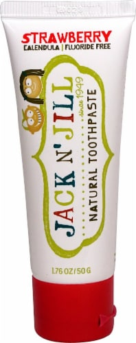 Jack N' Jill Kids Natural Toothpaste Perspective: front