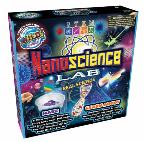 WILD! Science Nanoscience Lab Kit Perspective: front