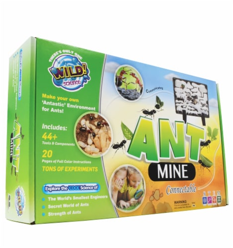 WILD! Science Ant Mine Kit Perspective: front