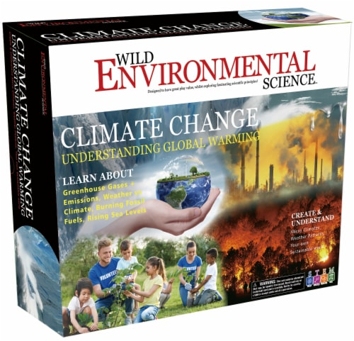 Wild Environmental Science Climate Change Science Kit Perspective: front