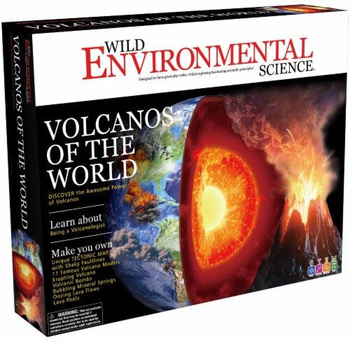 Wild Environmental Science Volcanos of the World Science Kit Perspective: front