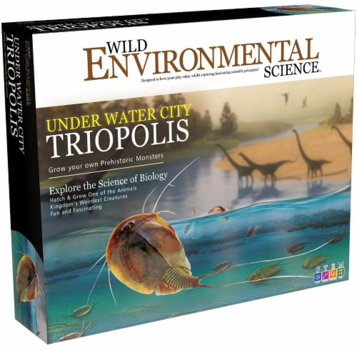 Wild Environmental Science Under Water City Triopolis Kit Perspective: front