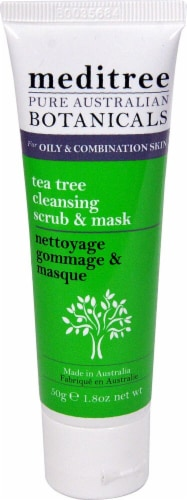Nature's Plus  Meditree Tea Tree Cleansing Scrub & Mask Perspective: front