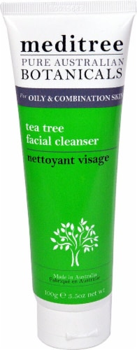 Nature's Plus  Meditree Facial Cleanser Tea Tree Perspective: front