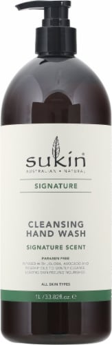 Sukin Signature Scent Cleansing Hand Wash Perspective: front