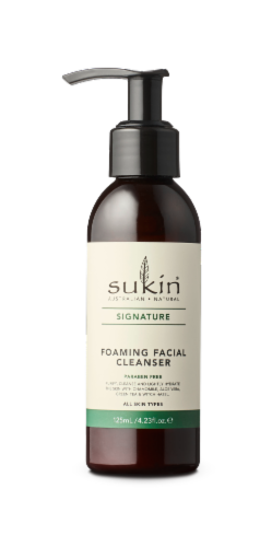 Sukin Signature Foaming Facial Cleanser Perspective: front