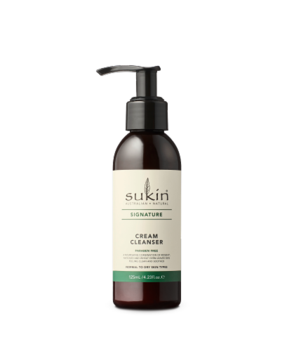 Sukin Signature Cream Cleanser Perspective: front
