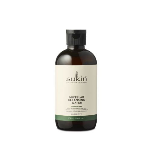 Sukin Micellar Cleansing Water Perspective: front
