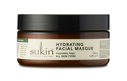 Sukin Hydrating Facial Masque Perspective: front