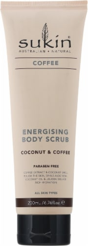 Sukin Coconut & Coffee Energising Body Scrub Perspective: front