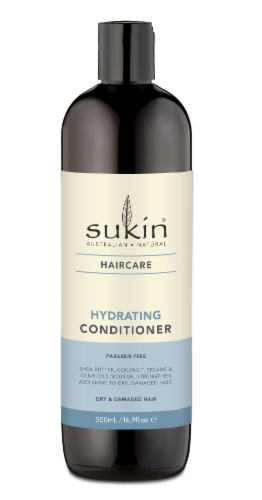 Sukin Haircare Hydrating Conditioner Perspective: front