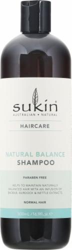 Sukin Haircare Natural Balance Shampoo Perspective: front