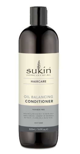 Sukin Haircare Oil Balancing Conditioner Perspective: front