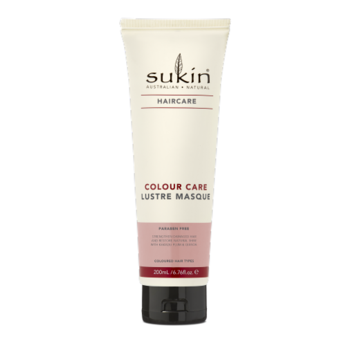 Sukin Colour Care Lustre Hair Masque Perspective: front