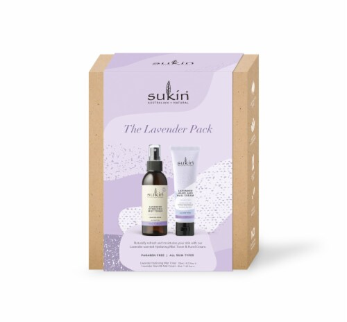 Sukin The Lavender Pack Perspective: front