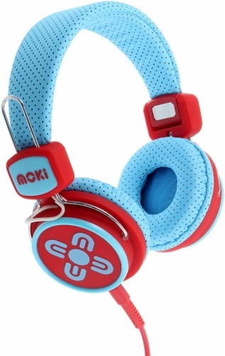 Moki Kid Safe Volume Limited Headphones Perspective: front