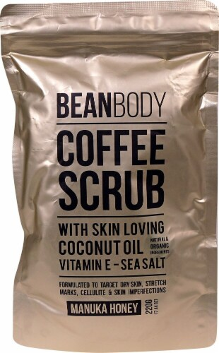 Bean Body Manuka Honey Coffee Scrub Perspective: front