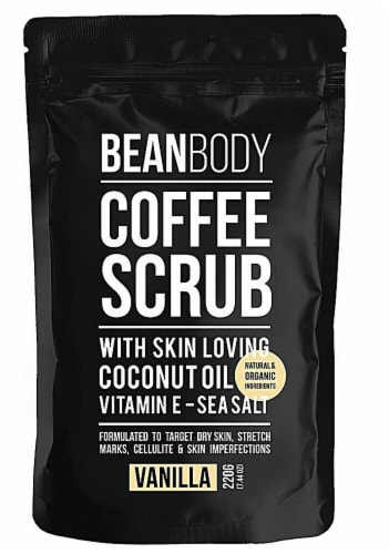 Bean Body  Coffee Scrub Vanilla Perspective: front