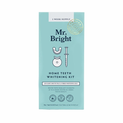 Mr. Bright 2 Week Supply Home Teeth Whitening Kit Perspective: front