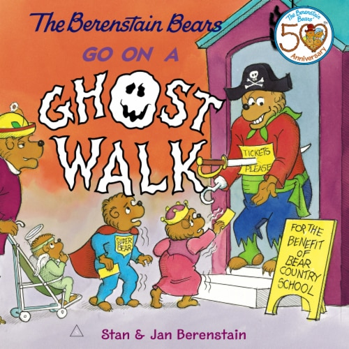 The Berenstain Bears Go on a Ghost Walk by Stan & Jan Berenstain Perspective: front