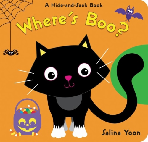 Where's Boo? by Salina Yoon Perspective: front