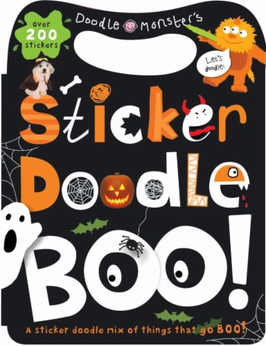 Sticker Doodle Boo by Doodle Monster's Perspective: front