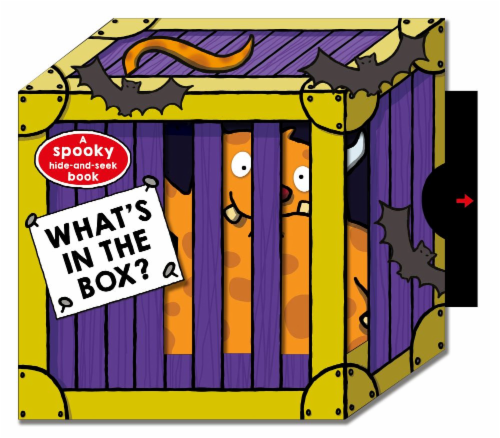 What's in the Box?: A Spooky Hide-and-Seek Book Perspective: front