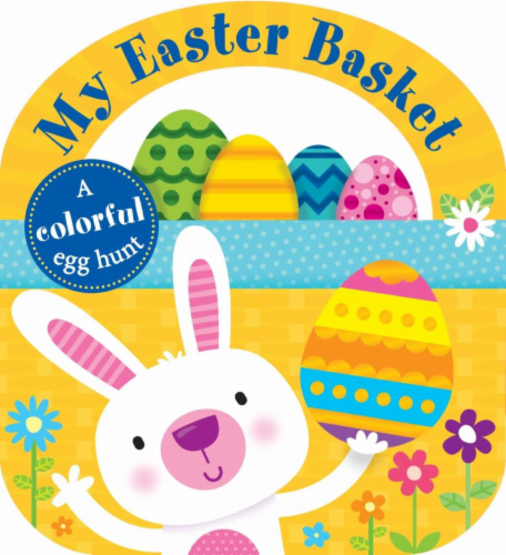 My Easter Basket Tab Book by Roger Priddy Perspective: front